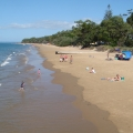 Beach at Torquay on Australia Day