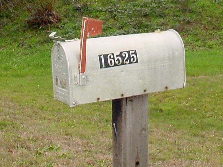 Mailbox Flag Up Download Mailbox With Flag Up Stock Photo Image Of