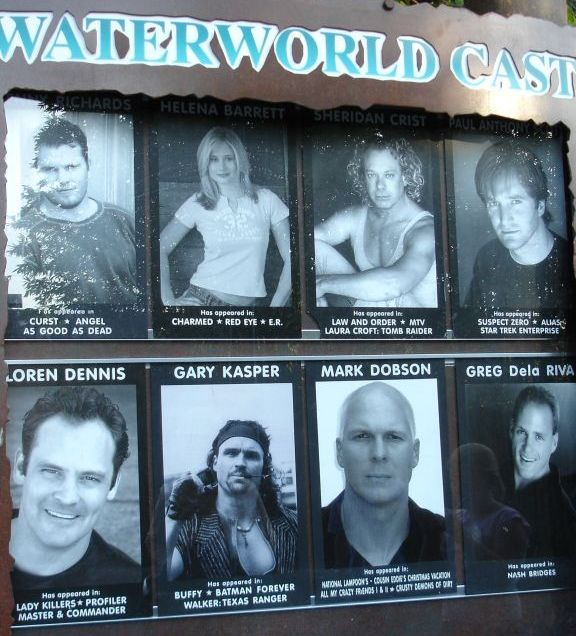 Waterworld 1995 Cast Then and Now 2019  Waterworld Movie Cast Before amp After Real Name and Age