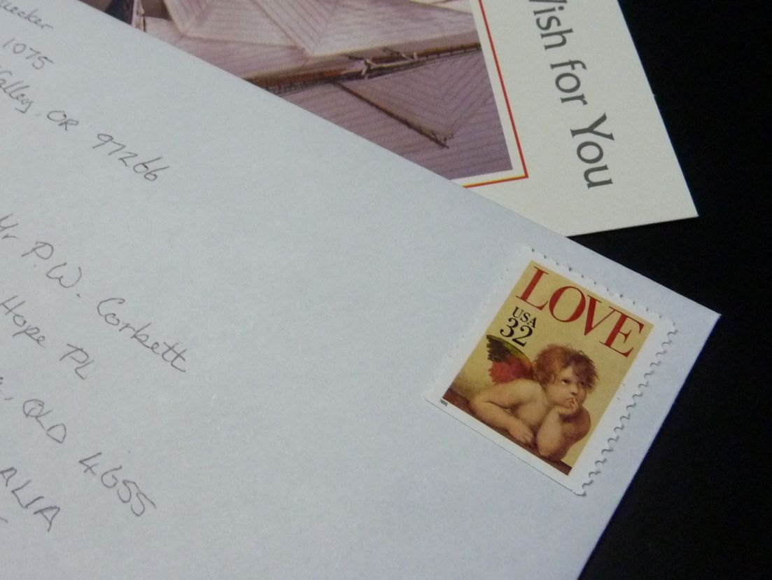 How To Put Stamps On Envelope My Web Value